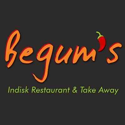 begums indian restaurant logo